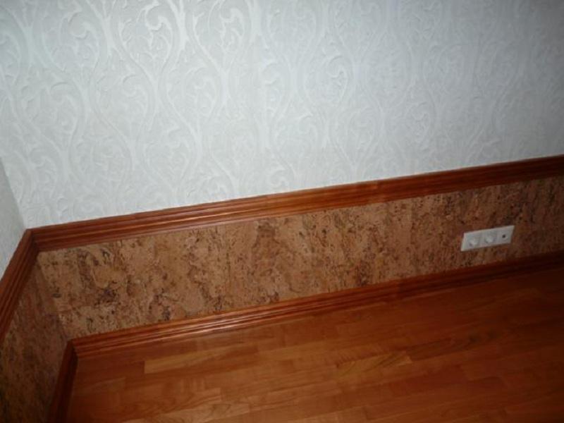 Отделка панелями стен фото